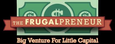 The Frugalpreneur Logo