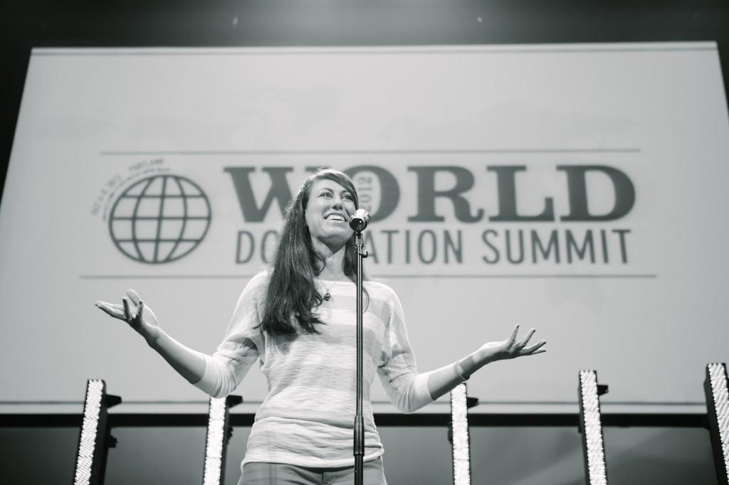 Jenny Blake speaking at WDS 2012