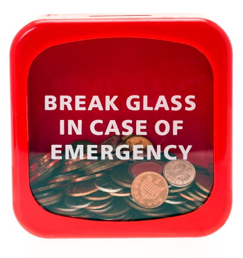 If you don't have an emergency fund set up yet, get started now.