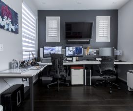 Home office deduction -- yes you can claim one.