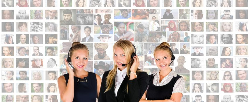 call centre providing customer service