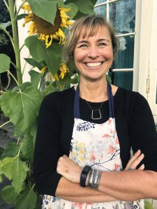 Christy Goldsby, founder of Honey Mama's cacao-nectar bars